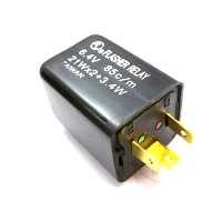 Blinkrelais elektrisch JMP 6V 3 polig