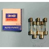 Glassicherung GLASSICH 30MM 15AMP VPE5 GLASS FUSE 30MM 15AP