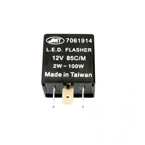130 Watt Nennspannung: 12 Volt Schaltleistung: 0,1 Watt BLINKER RELAIS ELIKTRONISCH 12 VOLT 3 POLIG 705.44.55