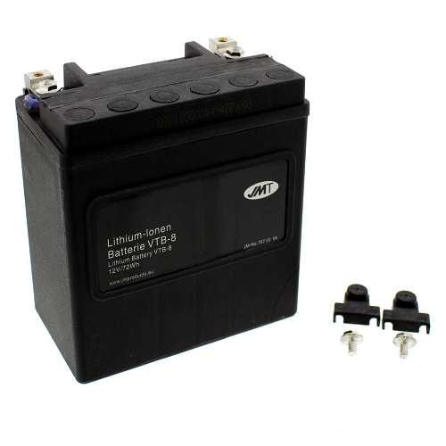batterie motorrad vtb 8 v twin jmt lithium ionen. Black Bedroom Furniture Sets. Home Design Ideas